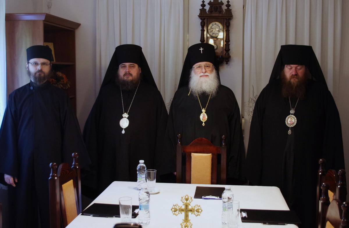 Сессия Архиерейского Синода Болгарской Православной Старостильной Церкви